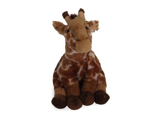 "11"" Plush Sitting Giraffe"
