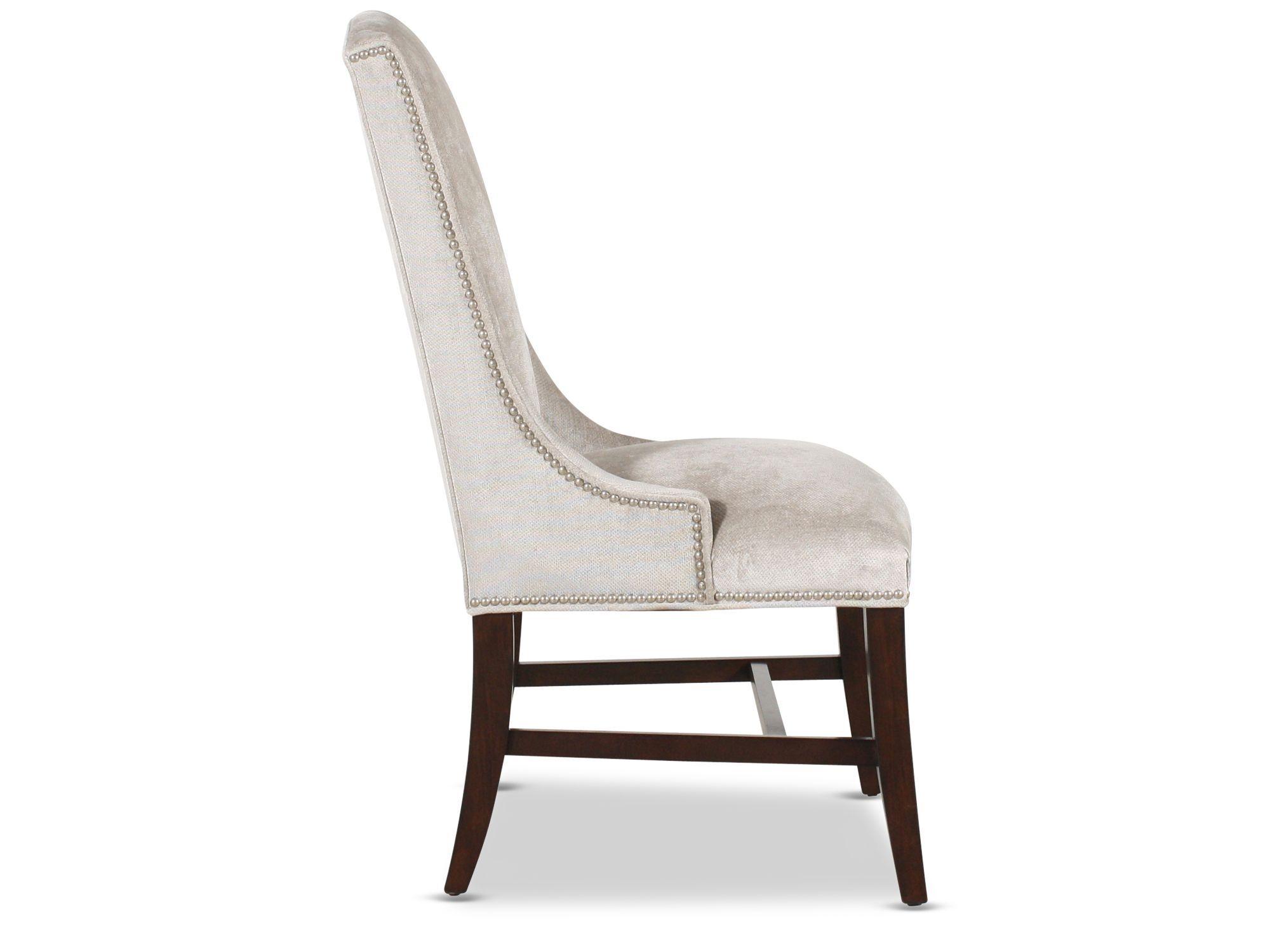 bernhardt interiors slope upholstered arm chair