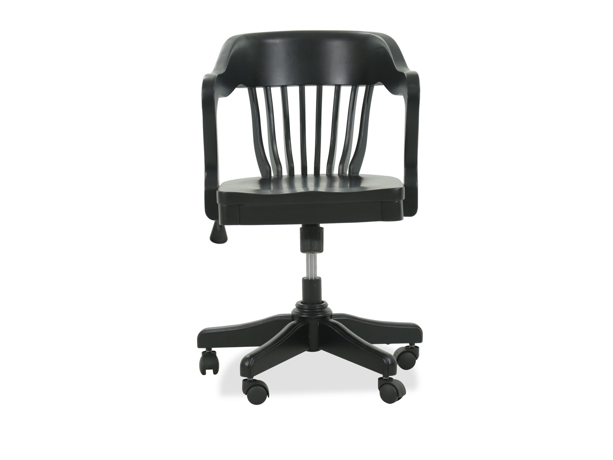Slat Back Traditional Youth Bankers Chair In Black Mathis Jpg 1333x1000 Black  Bankers Chair