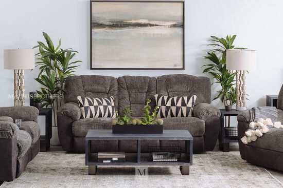 Casual Cuddler Recliner in Charcoal