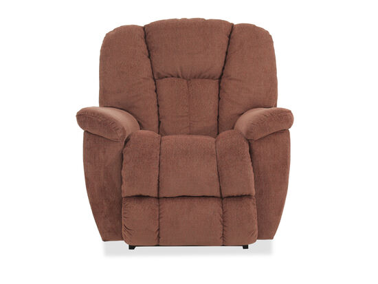 "Casual 38"" Rocker Recliner in Cinnamon"