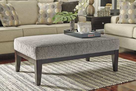 "Abstract Pattern 49"" Oversized Accent Ottoman"