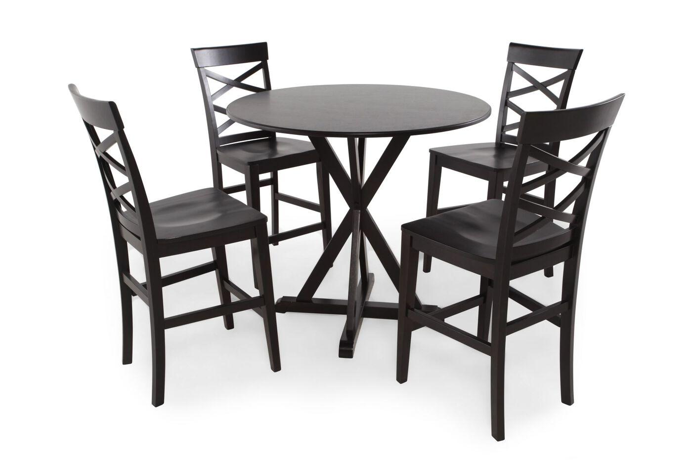 Ashley Berlmine Five-Piece Pub Set | Mathis Brothers Furniture