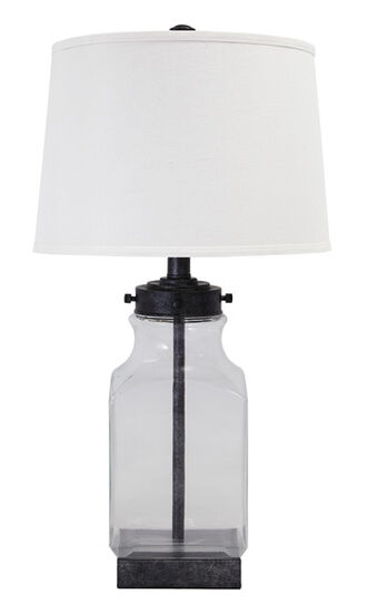 Casual Glass Jar Table Lamp