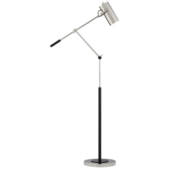 Swing Pharmacy Lamp with Cylinder Shade