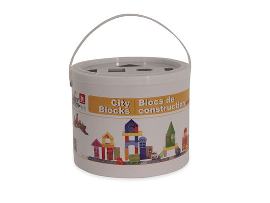 Little Moppet 55-Piece City Block Set