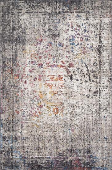 "Loloi Power Loomed 5' x 7'6"" Rug in Granite/Multi"