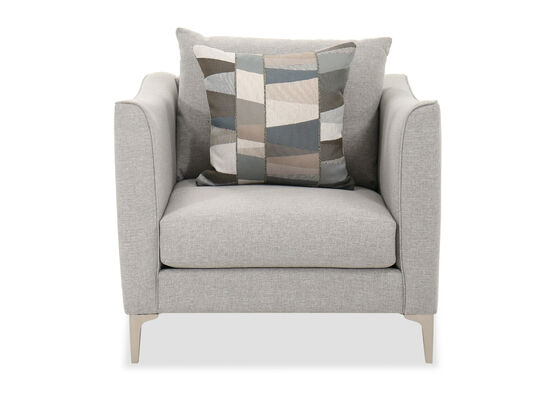 Contemporary Chair in Gray