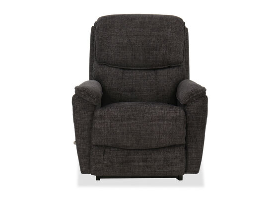 "35"" Contemporary Rocker Recliner in Charcoal"