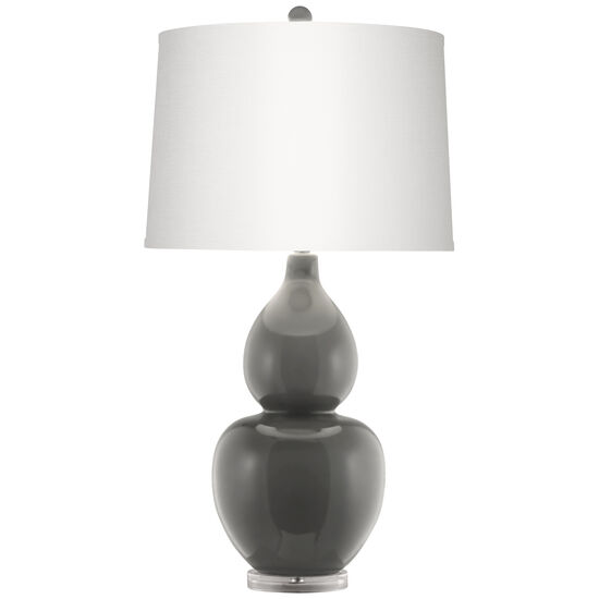 Contemporary Table Lamp in Oyster