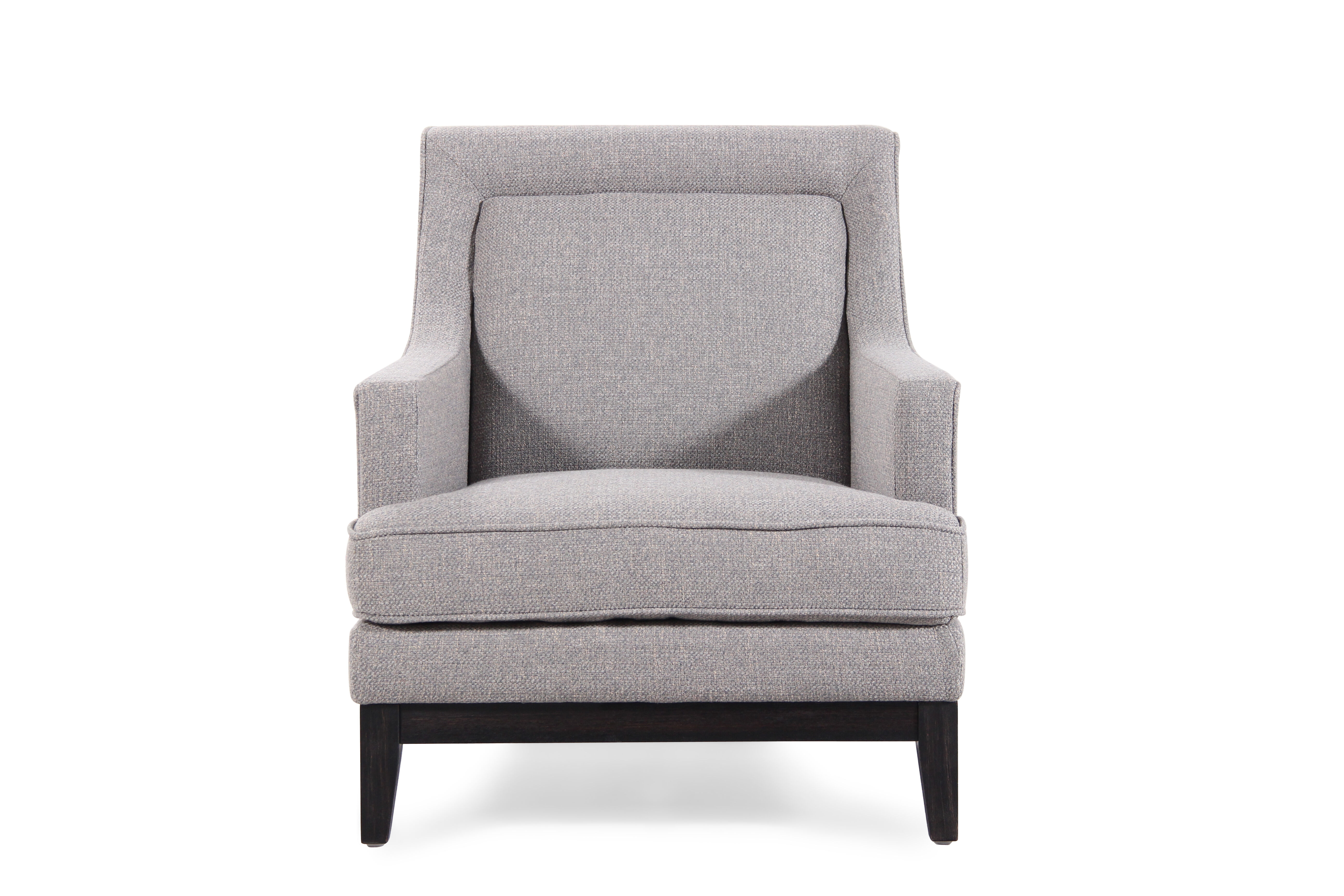 Textured Contemporary 31u0026quot; Arm Chair In Sage