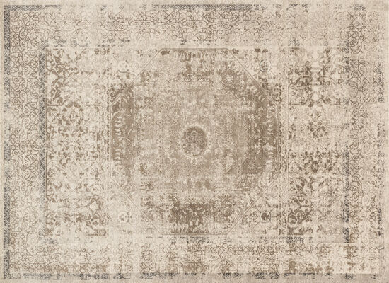 Loloi Power Loomed 5'3''x7'6'' Rug in Taupe/Sand