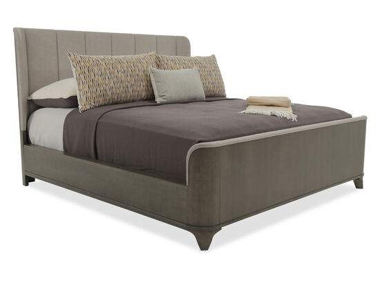 Caracole Modern Uptown Heathered Oak King Bed
