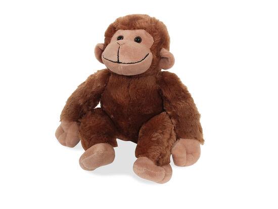 "10"" Plush Sitting Monkey"