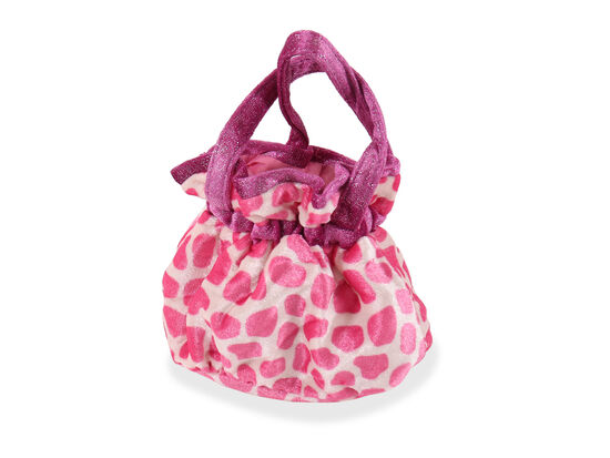 """8"""" Pretty Filly Pet Carrier in Pink"""