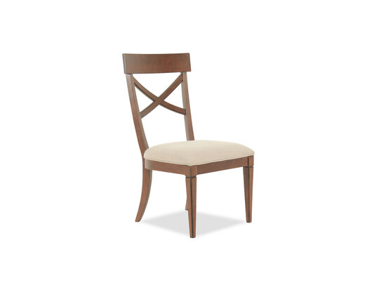 X-Back 40'' Side Chair in Cream