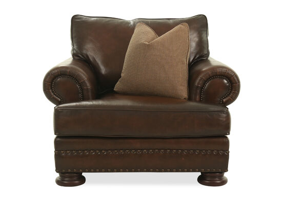 Naihead Accented European Classic Chair in Brown