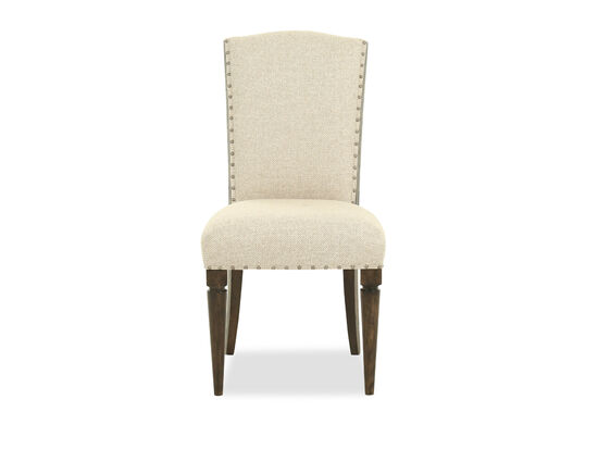 "Casual 41"" Side Chair in Beige"