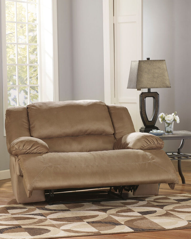 "Contemporary Microfiber 9"" Recliner in Mocha  Mathis Brothers"