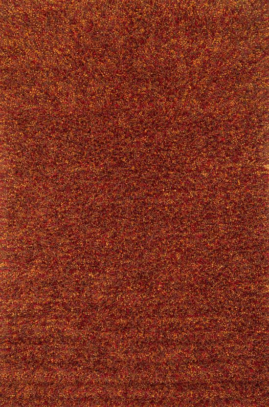 "Shags 7'-6""x9'-6"" Rug in Rust"