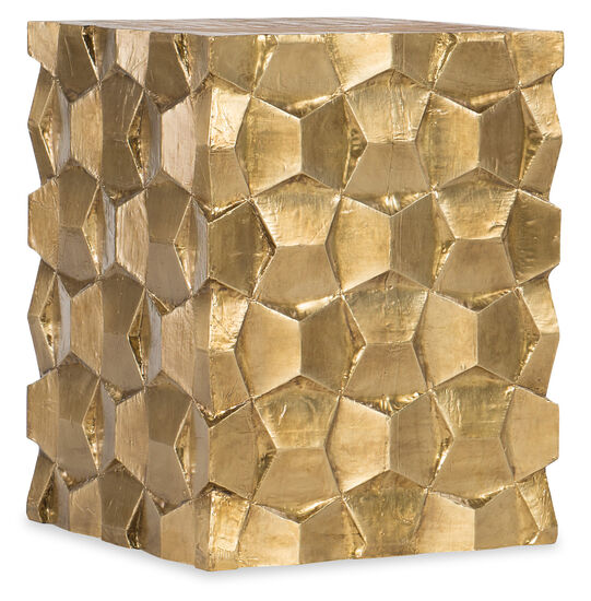 Constantin End Table in Gold
