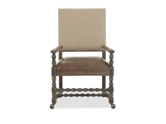 Twisted Frame 42'' Game Chair in Brown