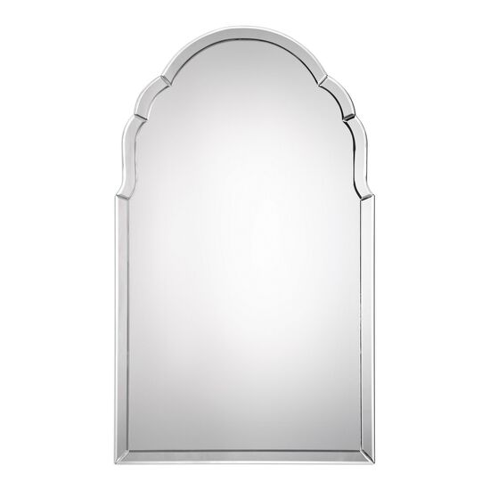 40'' Frameless Arched Mirror