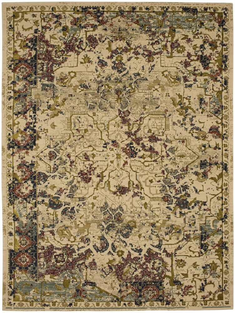 Contemporary 2 6 X8 Imported Area Rug Rectangle Rug In Multi