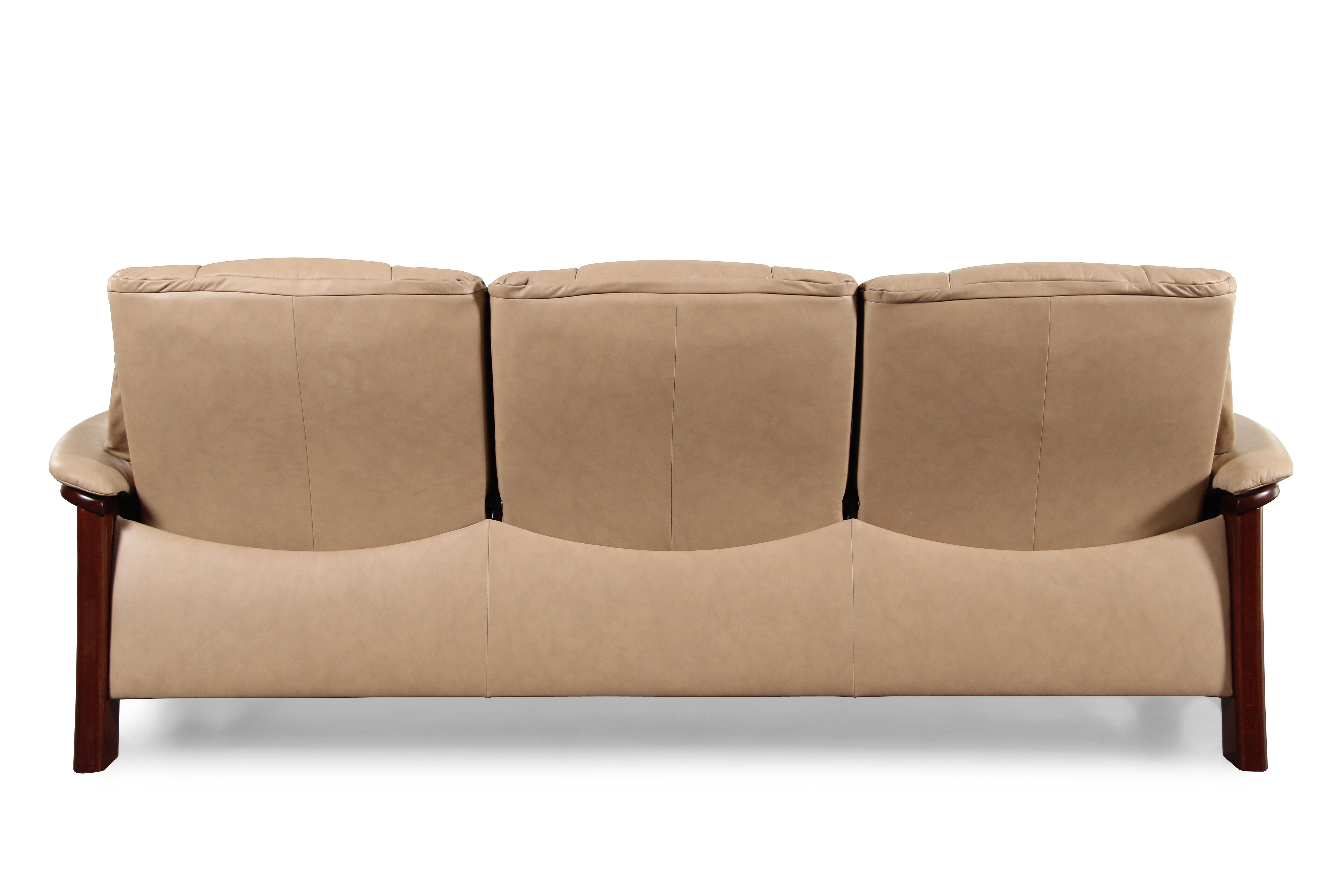 Great Stressless Buckingham Light Brown Paloma Sand Sofa