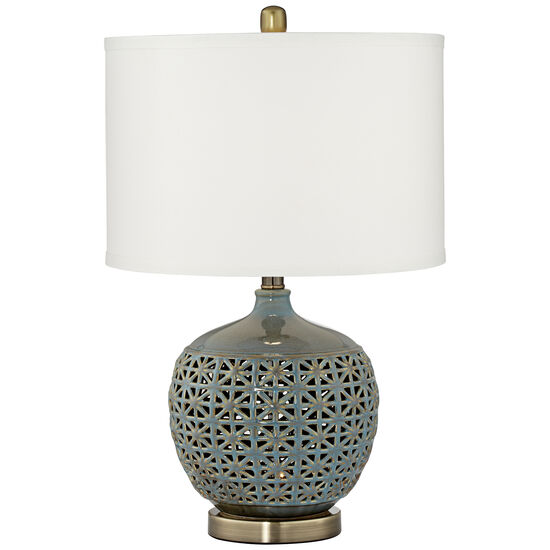 Cactus Cove Table Lamp With Night Light