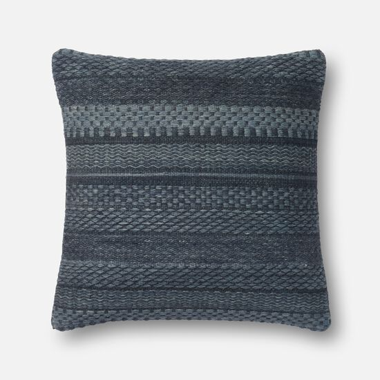 """22""""x22"""" Cover w/Down Pillow in Denim"""