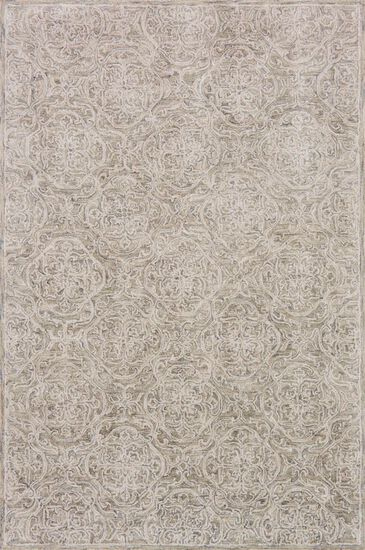 """Traditional 7'-9""""x9'-9"""" Rug in Sand"""