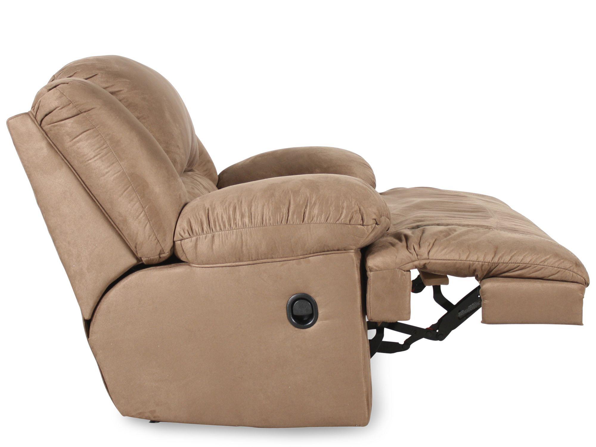 ashley hogan mocha oversized recliner