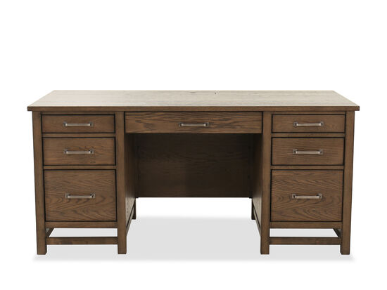 "66"" Traditional Executive Desk in Tawny"