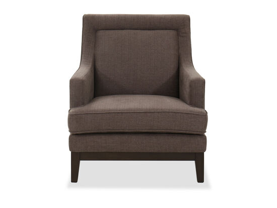 """78"""" Casual Accent Chair in Gray"""