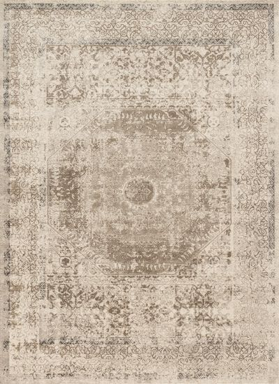 "Transitional 2'-8""x10'-6"" Rug in Taupe/Sand"