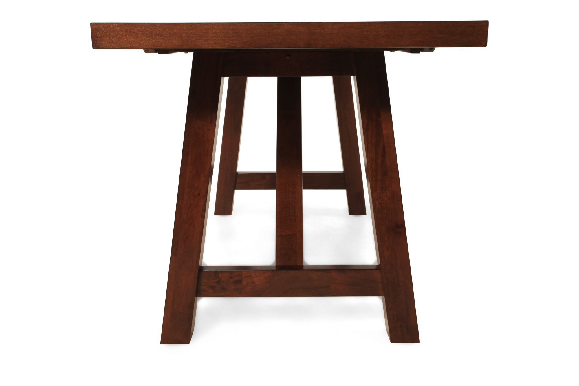 ... Traditional Tall Dining Table · 70u0026quot; 96u0026quot; Trestle Pedestal  Traditional ...