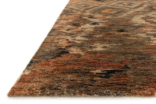 """Transitional 2'-0""""x3'-0"""" Rug in Rustic Brown"""
