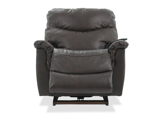 Casual 39'' Power Rocker Recliner in Walnut