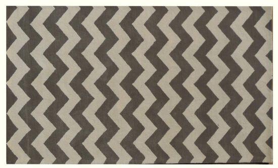 Lb Rugs|7-13 (chevron)|Hand Tufted Wool 5' X 8'|Rugs