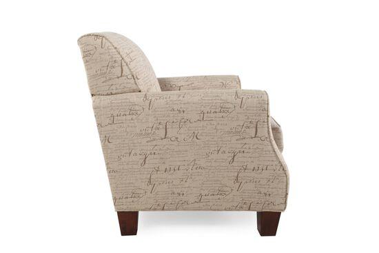 Signature Printed Chair in Cream