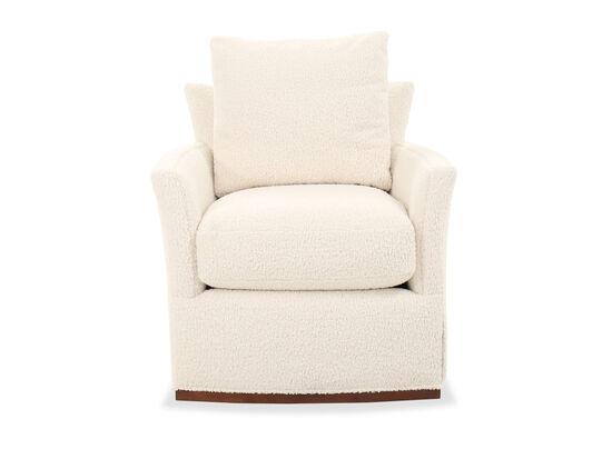"36"" Contemporary Chair in Cream"