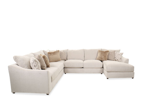 Four-Piece Casual Sectional in Beige