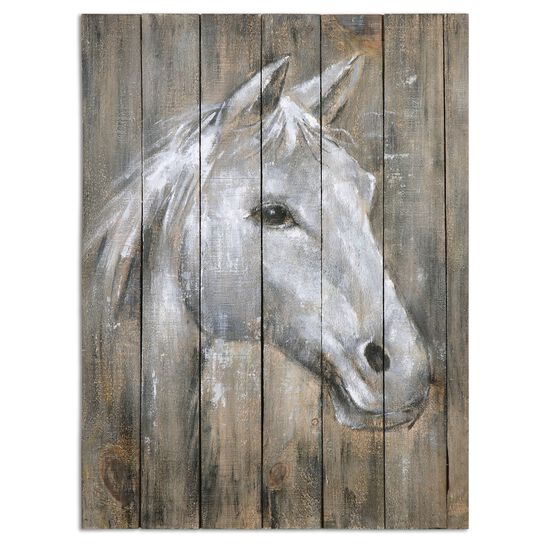 Hand Painted Horse Wall Art