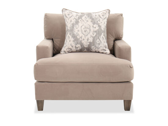 Casual Living Room Chair in Brown