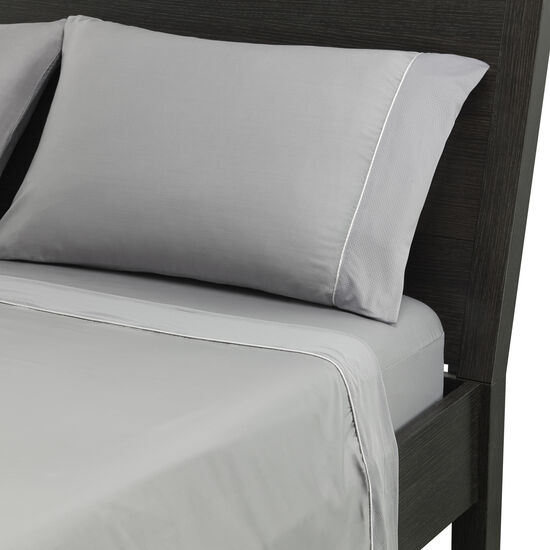 Five-Piece Hyper-Cotton Sheet Set In Gray