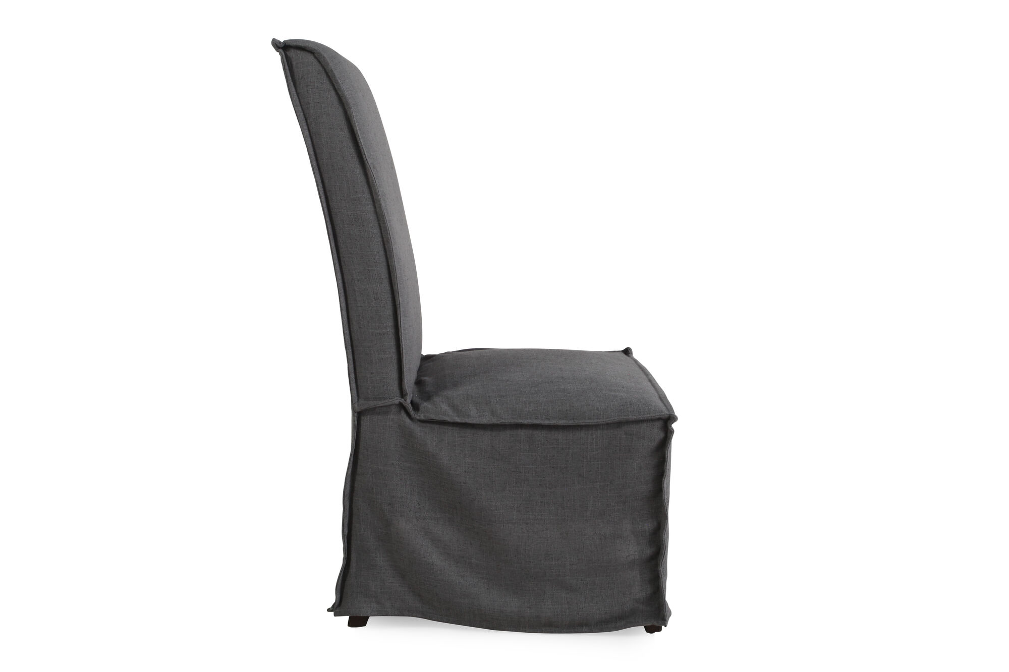 Dark Gray Casual 43 39 Armless Dining Chair Nbsp