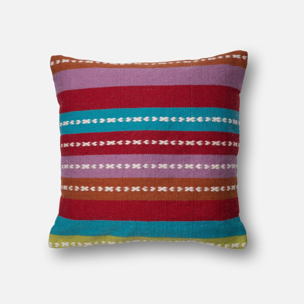 """22""""x22"""" Pillow Cover Only in Multi"""