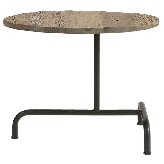 Oblong Accent Table in Light Brown