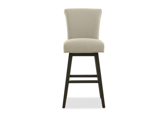 "Casual 44"" Armless Bar Stool in Beige"